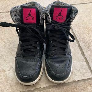 Air Jordan Retro with Faux Fur